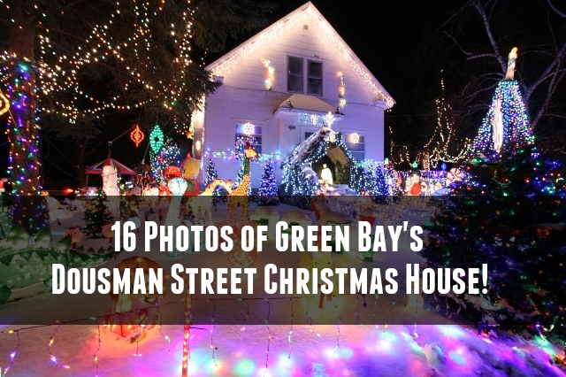 greenbay christmas lights house