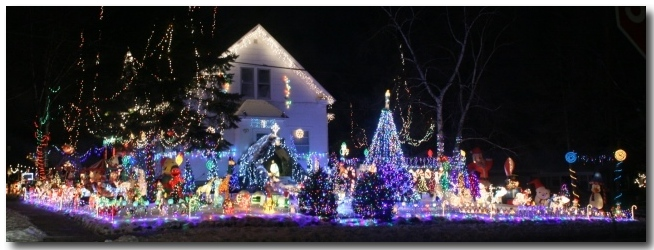 Green Christmas Lights.16 Photos Of Green Bay S Amazing Christmas Decorated Dousman