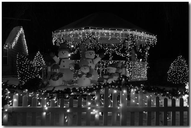 Howard Wisconsin Christmas Light House