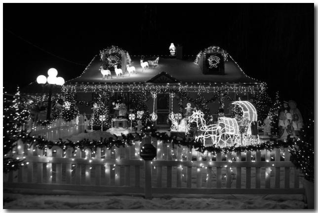 Green Bay Christmas Lights Home