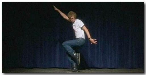 Napolean Dynamite Dance Move