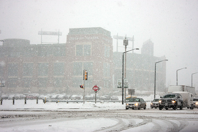 Lambeau Field Blizzard
