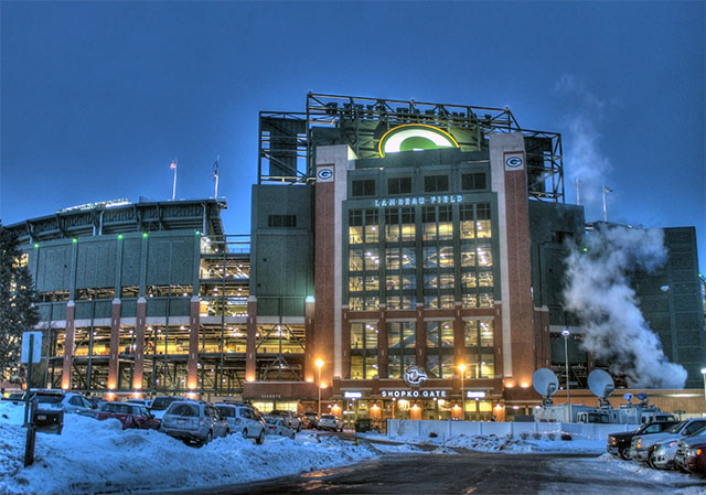 HDR Example Lambeau Field