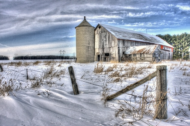 HDR Example Wisconsin Barn
